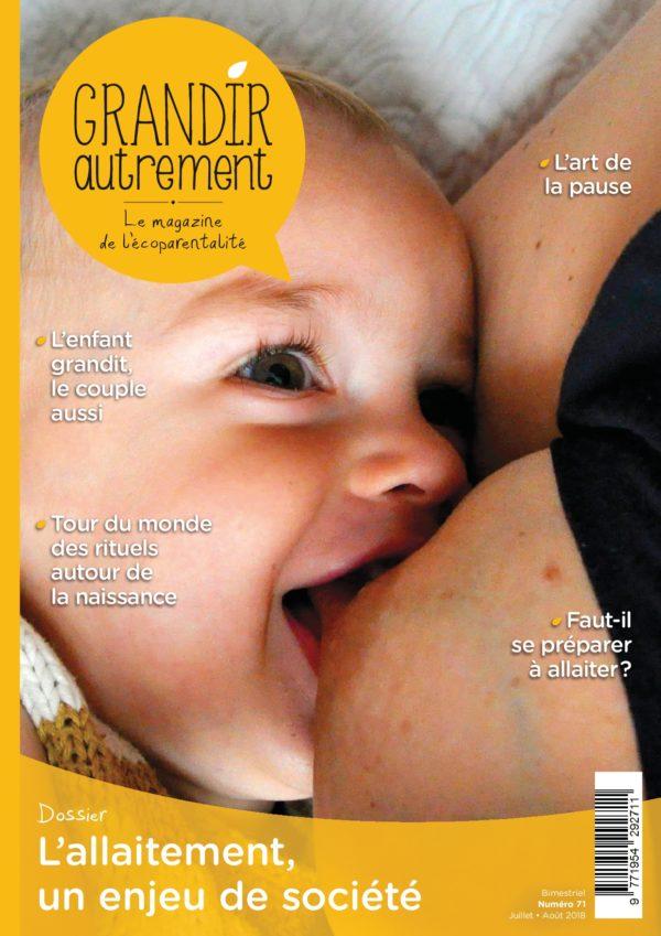 L'allaitement, un enjeu de société